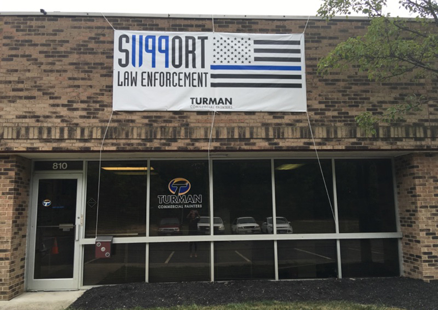 ohio support local law enforcement 1199 banner