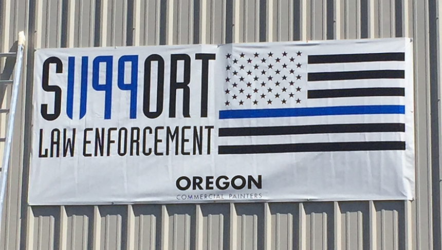 oregon support 1199 banner