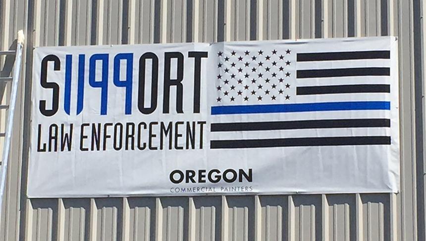 oregon support 1199 banner